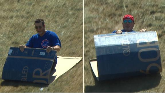 Rizzo and Maddon go sledding at LLWS