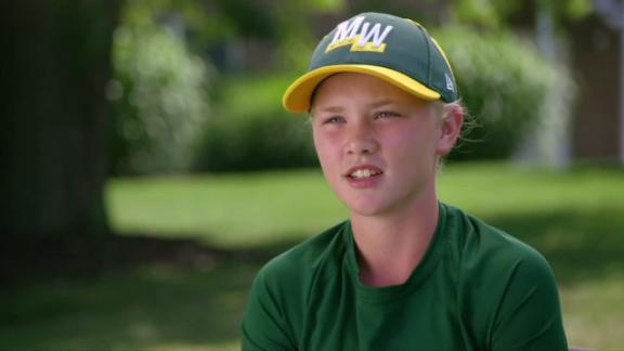 Maddy Freking becomes 19th girl to play in LLWS