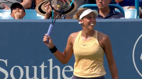 Keys beats Kuznetsova to win title