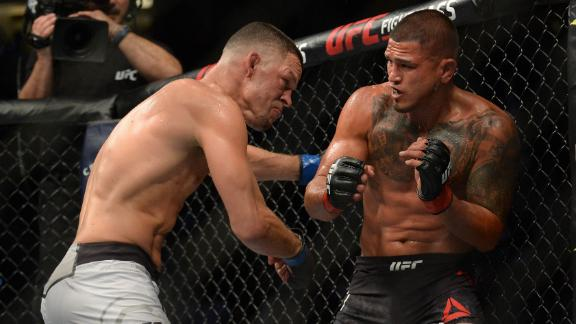 Diaz beats Pettis in UFC return