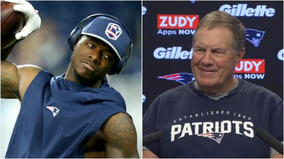 Belichick plays coy with media on Gordon situation