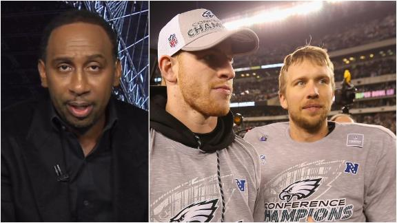 Stephen A.: Foles will be bigger Philly legend than Wentz