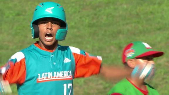 Venezuela takes lead off single and an error