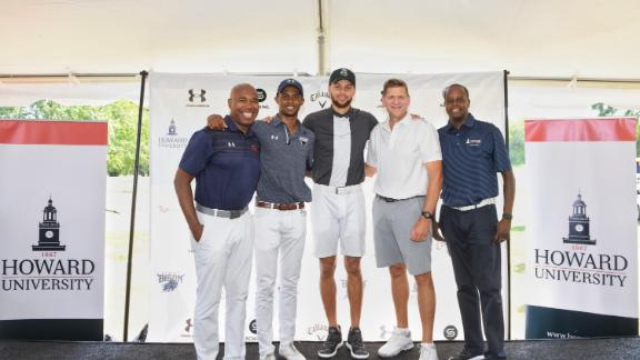 Stephen Curry provides six years of funding for Howard University's first Division I golf program