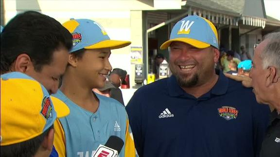 Hawaii coaches not getting much sleep during LLWS