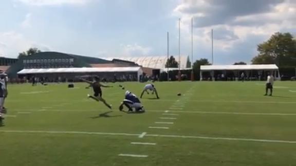 Lloyd drills 55-yard field goal