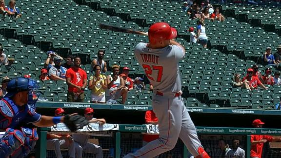 Trout blasts career-high 42nd HR of season