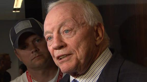 Jones: 'I've earned the right with Zeke to joke'