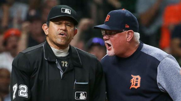 Cabrera, Gardenhire ejected during Tigers' loss to Astros