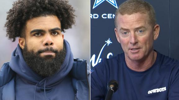 Garrett on Zeke: 'We love him as a guy; we love him as a player'