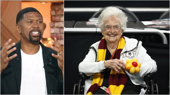 The Get Up crew wishes Sister Jean happy 100th