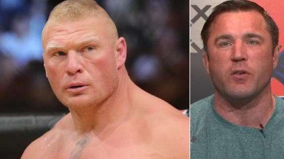 Chael Sonnen: 'I think Lesnar would crush Jon Jones'