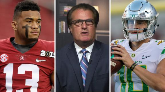 Tua, Herbert headline Kiper's top QB prospects