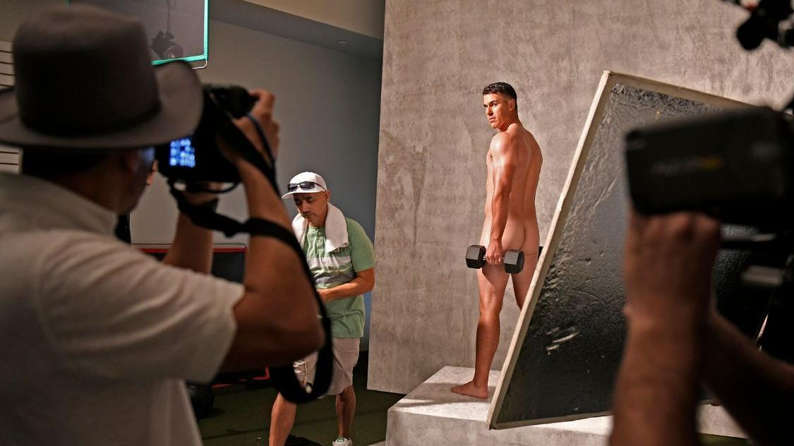 Behind the scenes of Brooks Koepka's Body Issue shoot