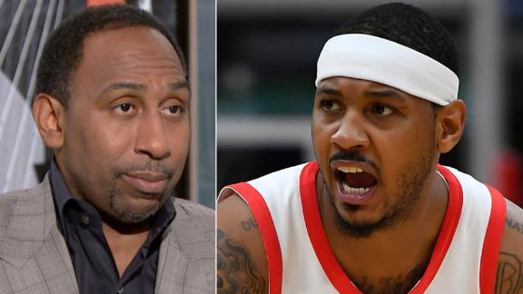 Stephen A:  Teams don't want Melo as a bench player