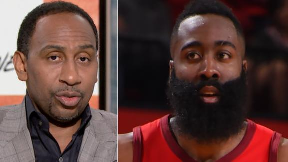 Stephen A.: Harden won MVP for the same reason he criticizes