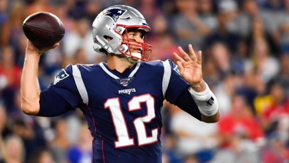 Brady leads Pats to 1st TD of the game