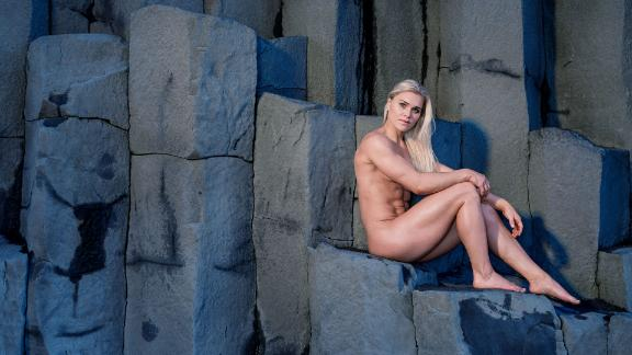Behind the scenes of Katrín Davíðsdóttir's Body Issue shoot