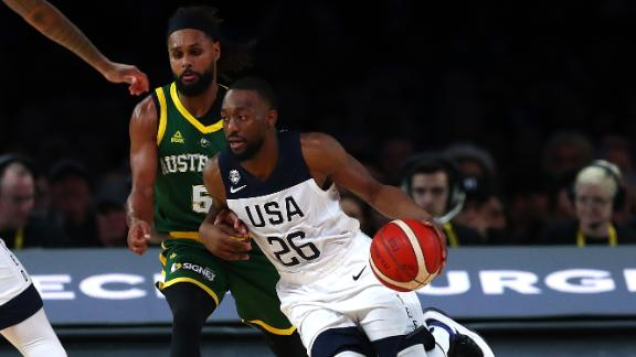 Kemba leads Team USA to win in Australia