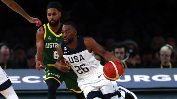 Kemba leads Team USA to win in Australia