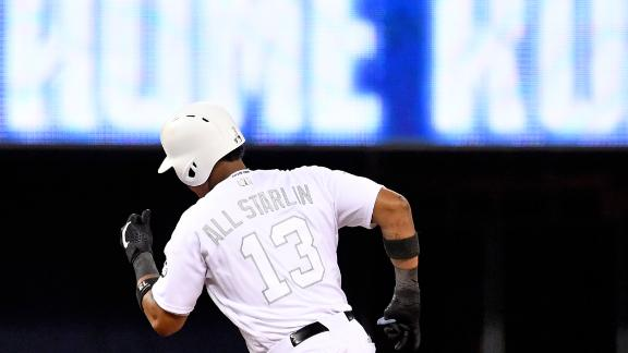 Castro wallops 2 homers in Marlins' rout