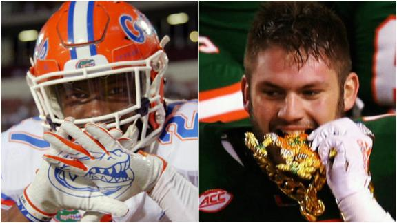 Florida's rivalry renewed: The U vs. The Swamp