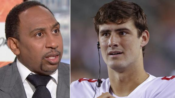 Stephen A.: We haven't seen anything yet from Daniel Jones