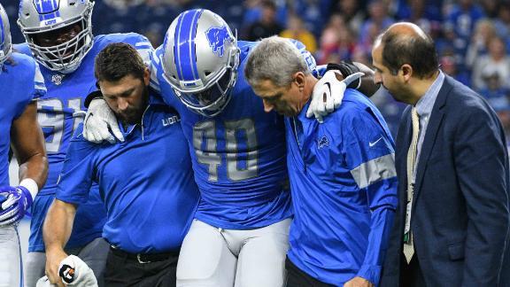 Lions lose Davis, Ragnow to injuries