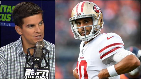 Yates: Jimmy G has to prove he is a franchise QB