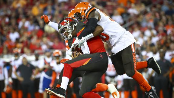 Winston feels the pressure from the Browns