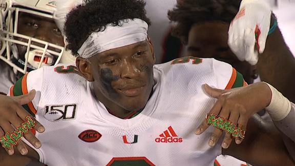 Miami debuts new drip with touchdown rings