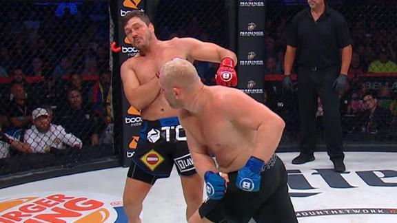 Kharitonov gets revenge vs. Mitrione with KO