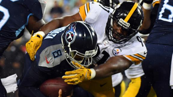 Steelers close in on Mariota for safety