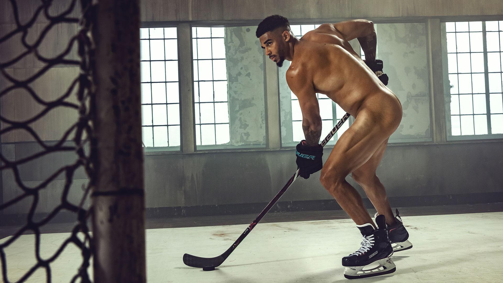 Behind the scenes of Evander Kane's Body Issue shoot