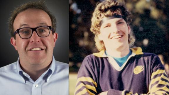 Cal fan becomes a school hero in 1992, U.S. hero in 2001