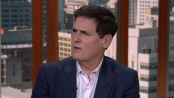 Nichols asked Mark Cuban the tough questions