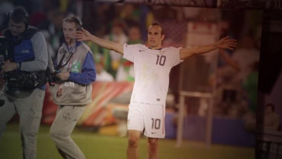 Schaap questions to hug or not to hug Landon Donovan