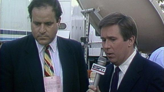 ESPN stays on the air during 1989 earthquake