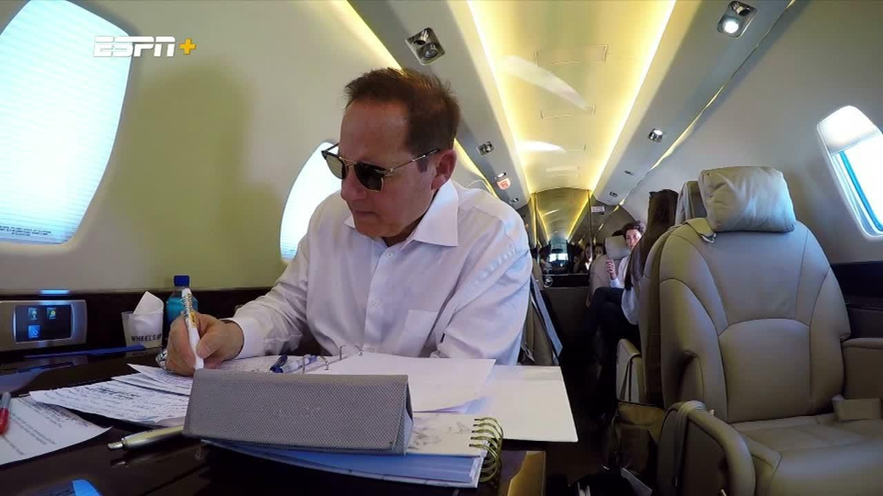 Miles preps for Kansas job on flight to Lawrence