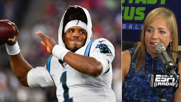 Bell confident in drafting Newton for Week 1