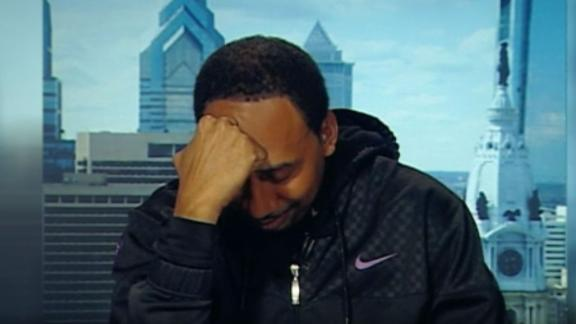 "Stephen A. on ""the largest amount of crow I ever had to eat"""
