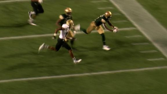 UAB's Mitchell dives in for a 98-yard kickoff return TD