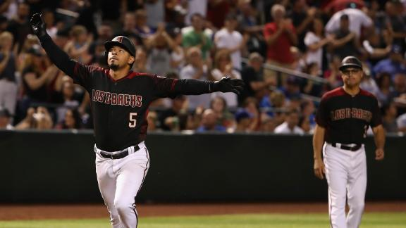 Escobar homers in 3rd straight game