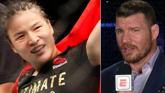 Bisping impressed by Zhang's big win over Andrade