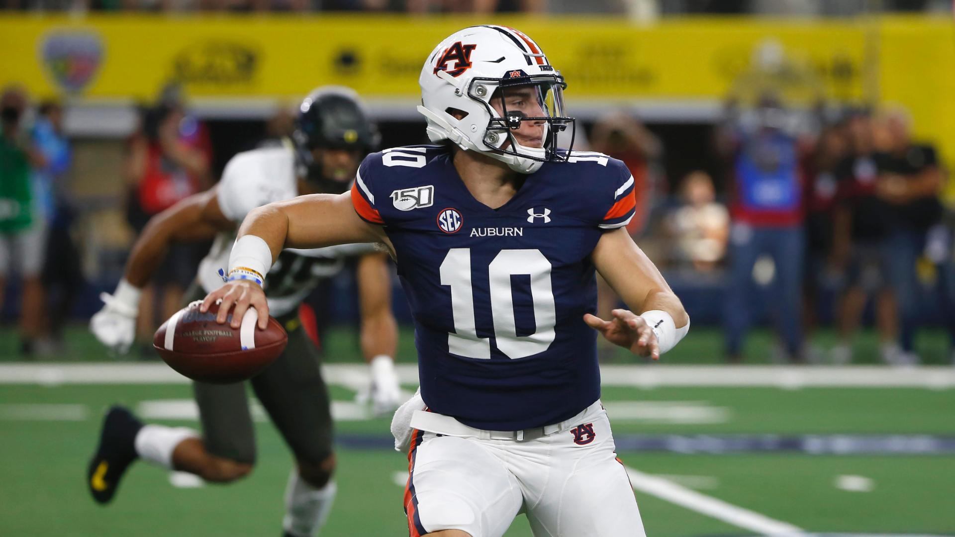 Nix's heroics lead to Auburn's comeback win over Oregon