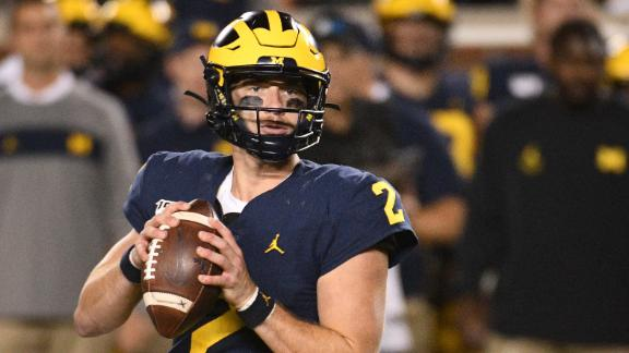 Patterson leads Michigan to Week 1 win