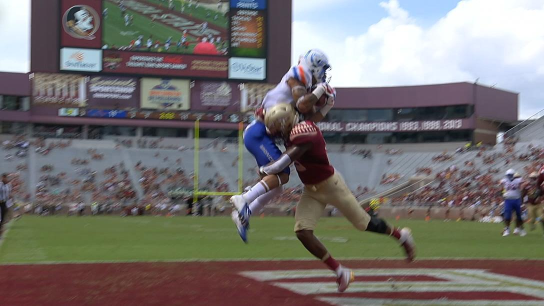 Boise State's Shakir makes incredible catch for TD