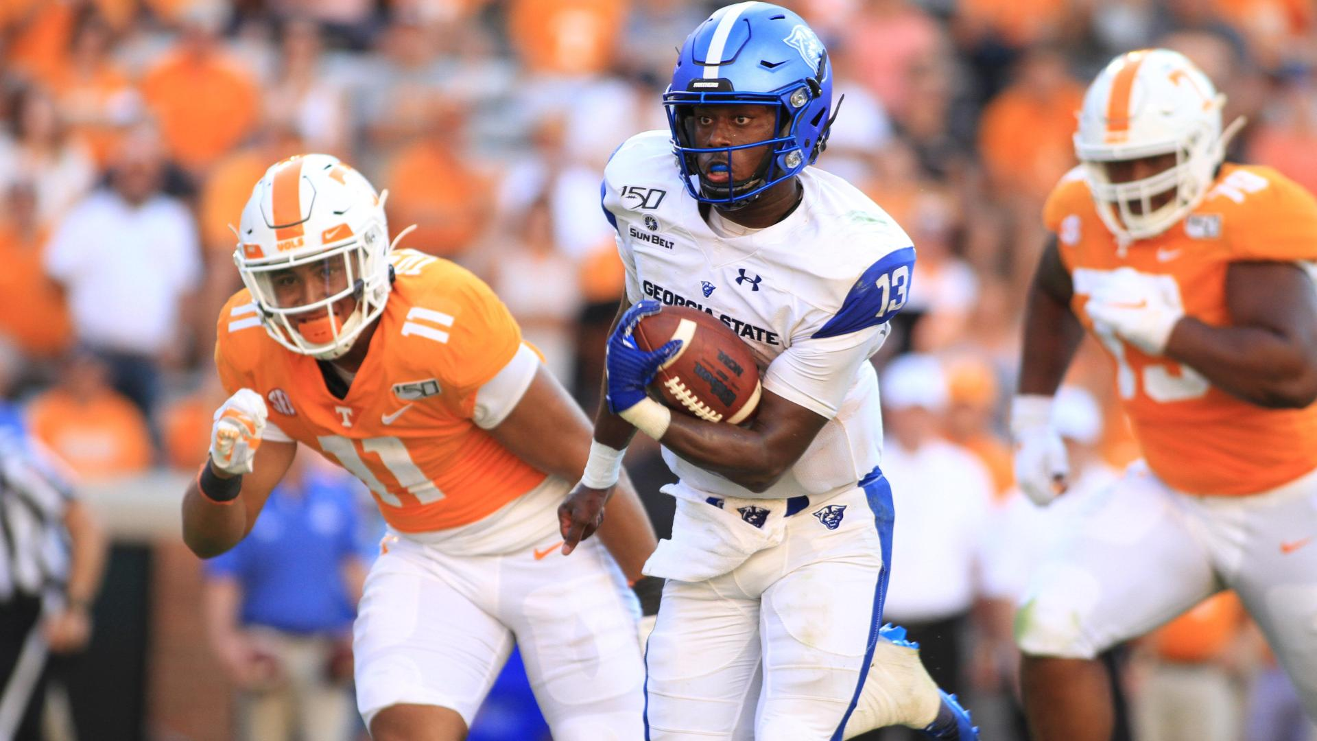 Georgia State's late TD secures upset of Tennessee