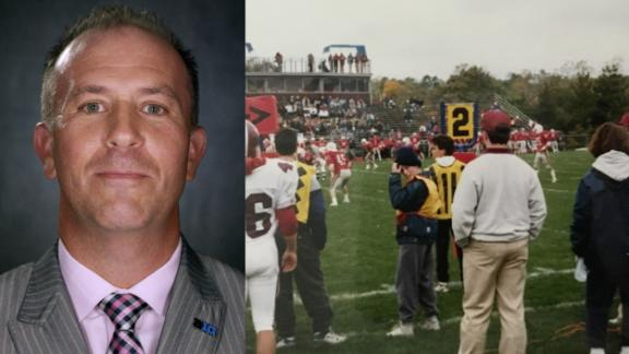 14-year-old chain crew worker later becomes Big Ten administrator