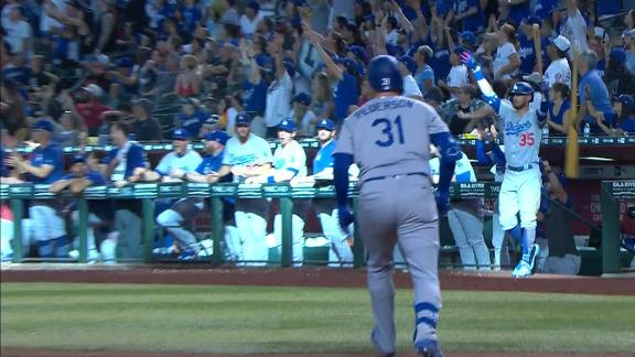Pederson hits go-ahead HR in extras